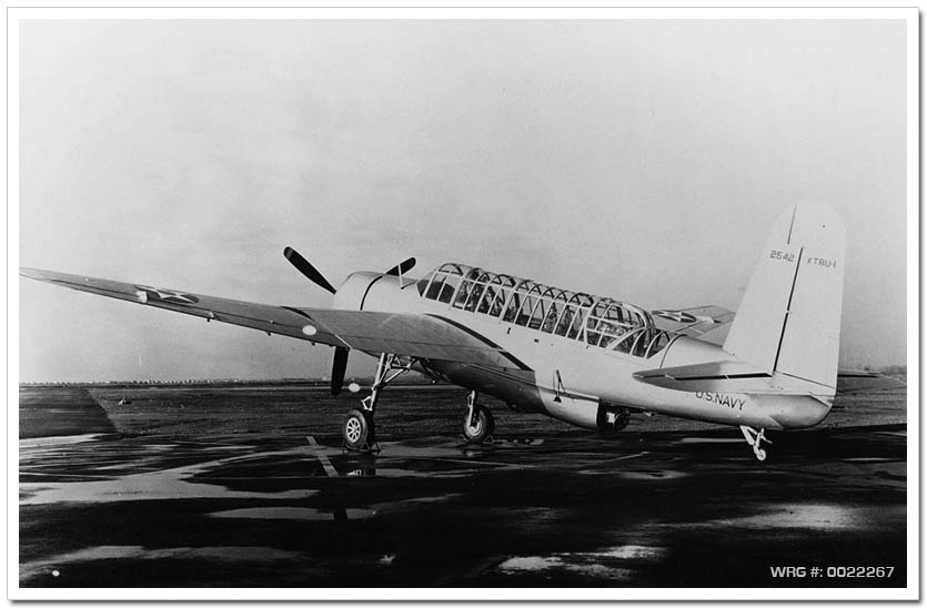 Vought-Sikorsky XTBU-1 Sea Wolf prototype