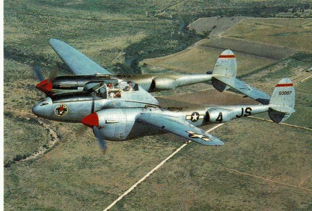P 38 Lighting USAAF 5th AF