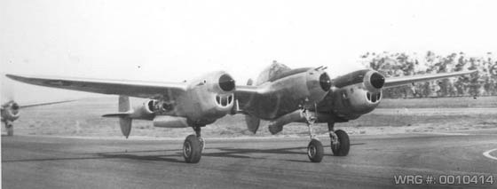 Lockheed P-38 Lightning WRG# 0010414
